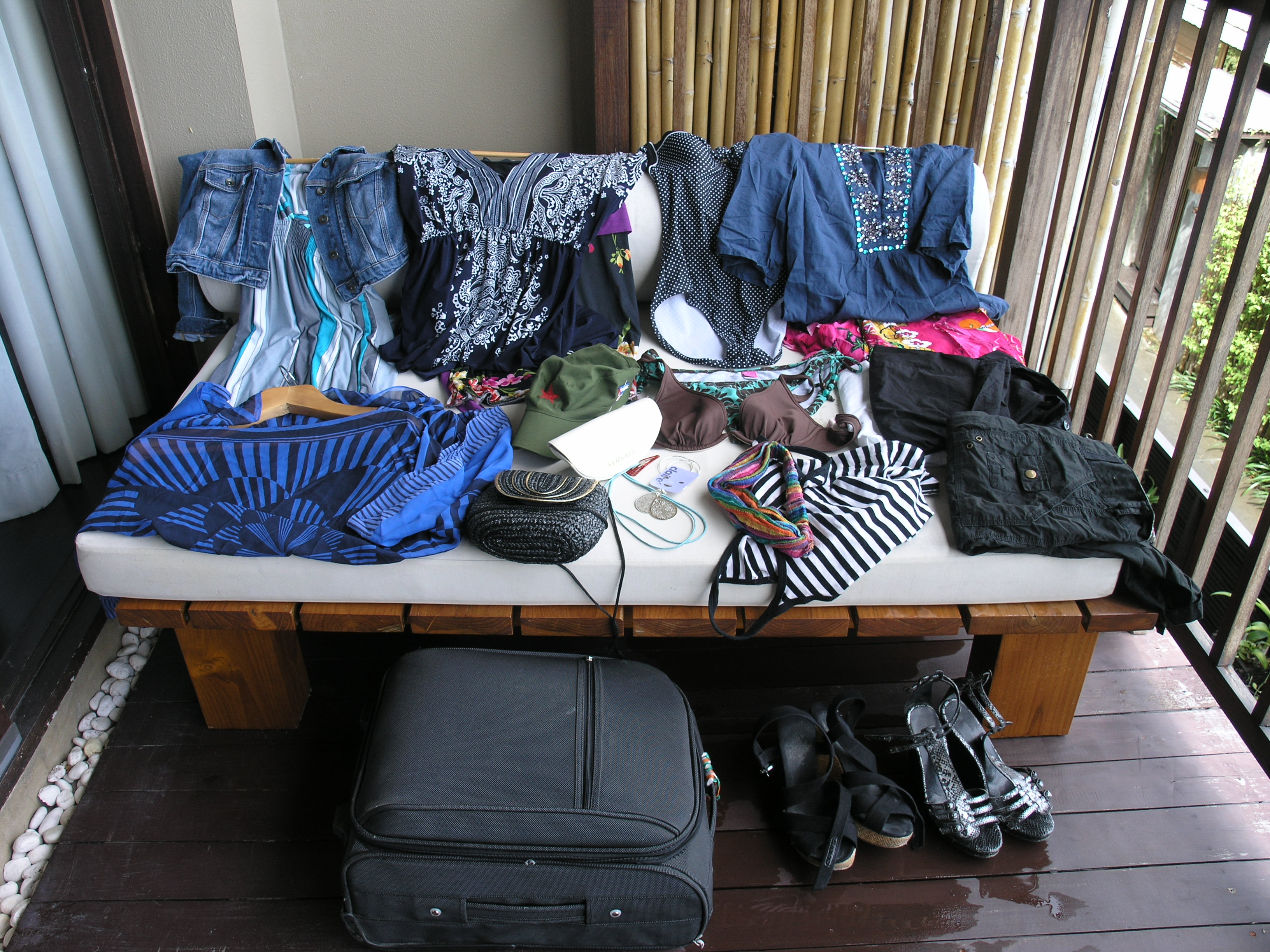 In My Holiday Suitcase: Clothes