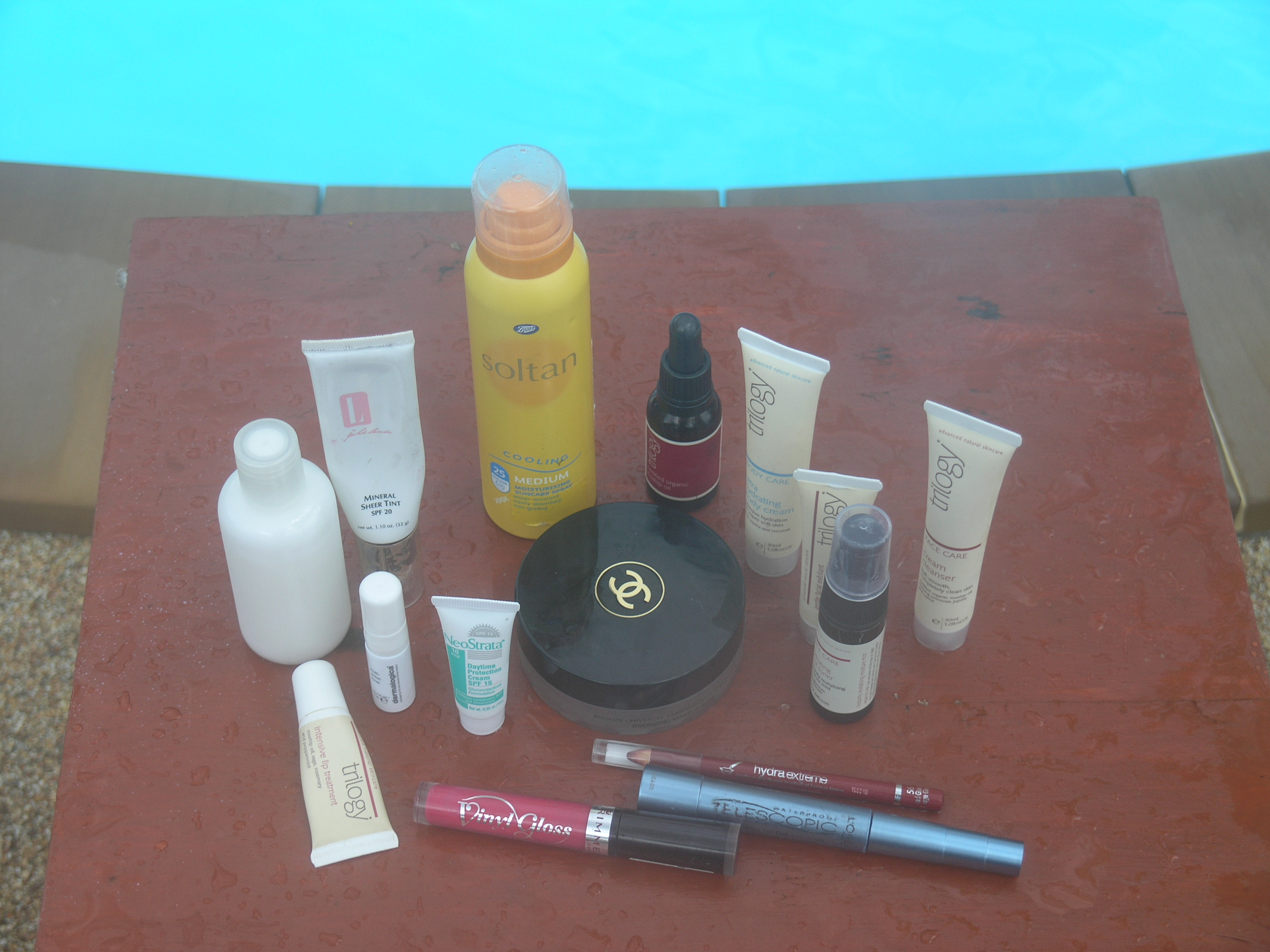 In My Holiday Suitcase: Toiletries & Makeup