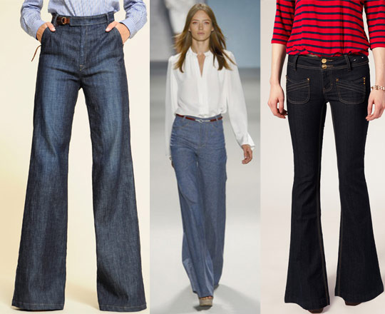 Top 5: 70's Style Jeans