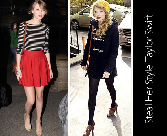 Steal Her Style: Taylor Swift