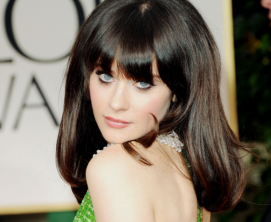 Zooey Deschanel is the World's Biggest Crush
