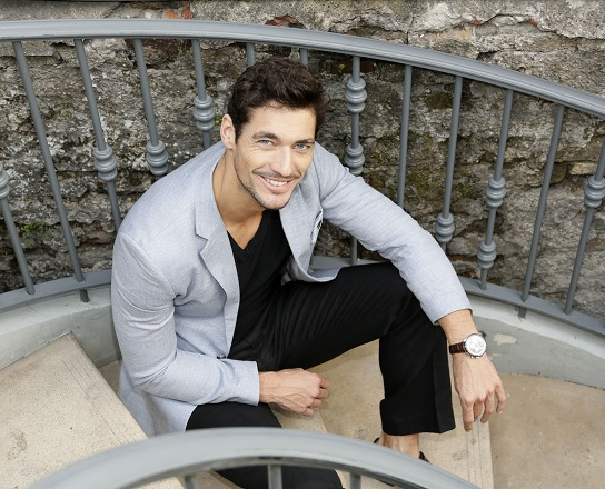 David Gandy in Dublin for M&#038;S