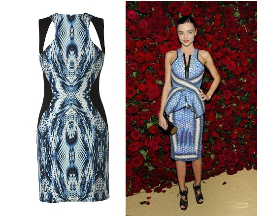 Get The Look: Miranda Kerr in Peter Pilotto