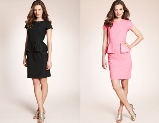 peplum-dress