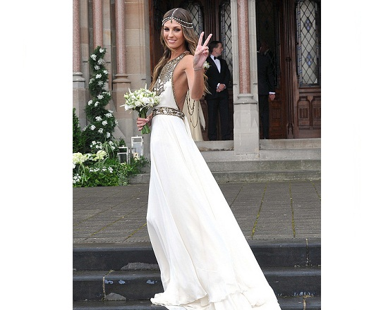 Aoife Cogan's Wedding Dress