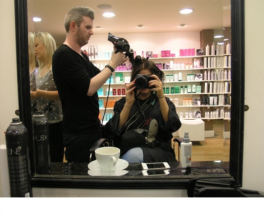 Hair and Makeup at Barry's Hair Studio Galway