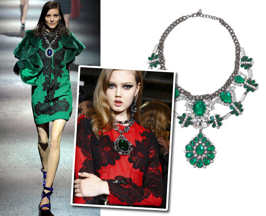 Accessory Alert: The Statement Necklace