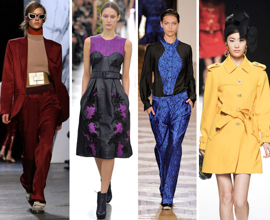 AW12′s Hottest Colour Trends