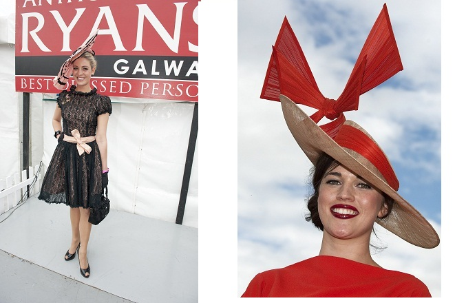Best Dressed Lady at Galway Races 2012
