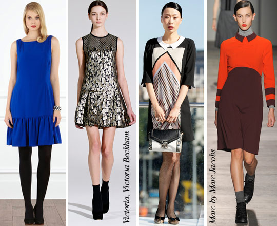Autumn Dresses: Schoolgirl or Dropped-waist?