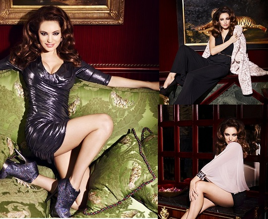 Kelly Brook for New Look Christmas