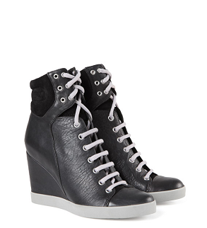 see by chloe wedge trainers