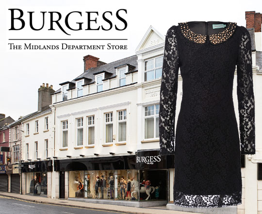 Win! €100 Spending Spree in Burgess Department Store