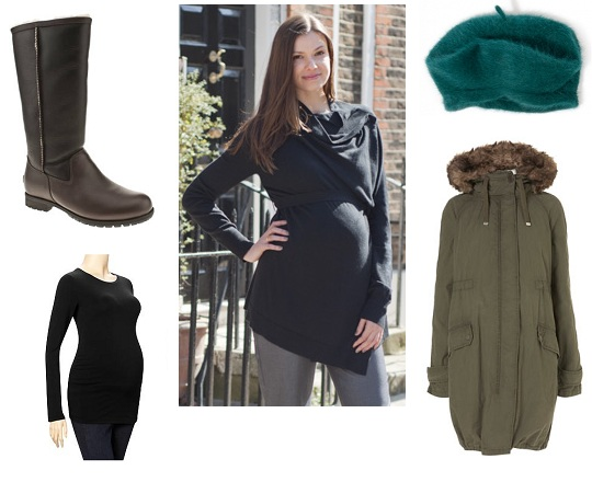 Bumpwatch: Winter Dressing for Pregnancy
