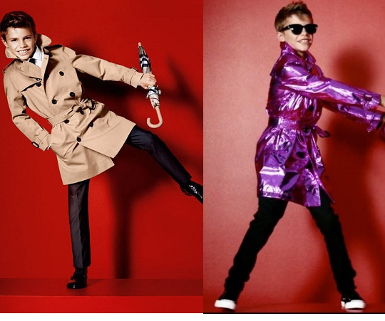 Romeo Beckham Shines in spring/summer 2013 Burberry Campaign