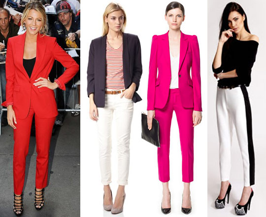 Ask the Stylist: Trouser Suits to Suit your Body Shape
