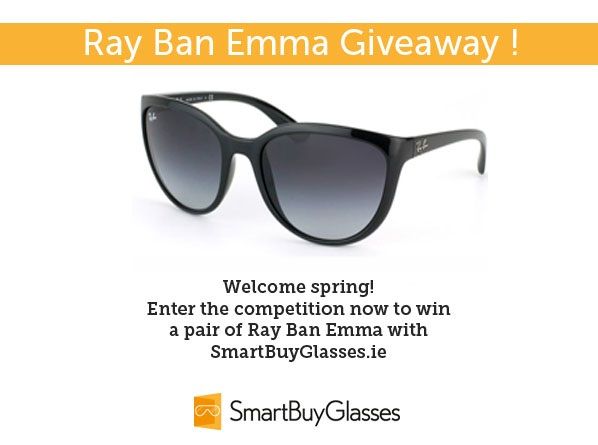 Win! Ray Ban Emma SmartBuyGlasses Ireland