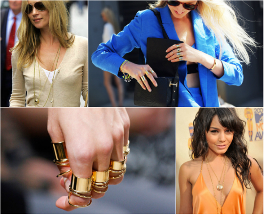 Get the Look: Layering Delicate Jewellery