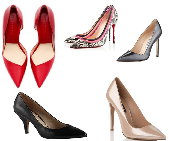 Top 5: Pointed Court Shoes