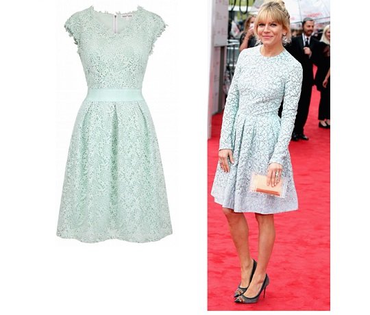 Ask the Stylist: Sienna Miller's Mint Green dress