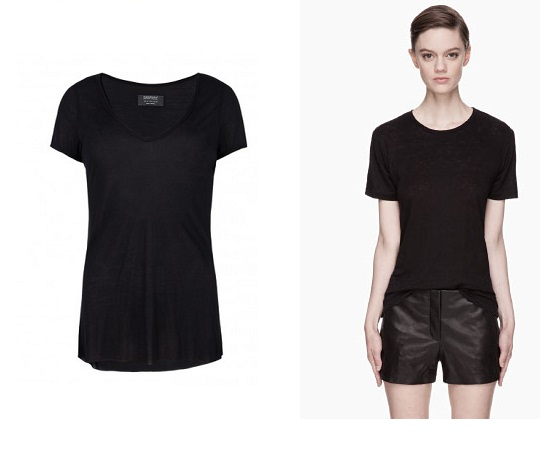 Ask the Stylist: Silk T-shirt