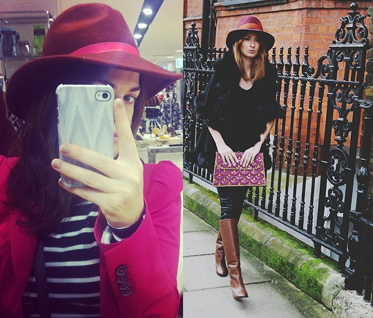 What She Wears: Fedora Hats