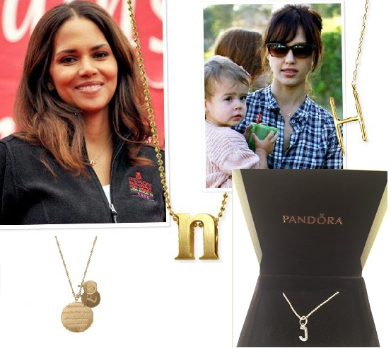 Jewellery Trend We Like: Alphabet Pendants
