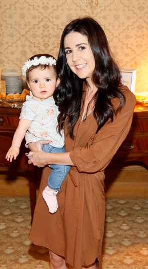 Laura Doyle with her daughter Noa