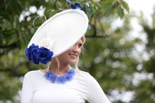 Leona Clarke at the Longines Irish Champions Weekend at the Curragh