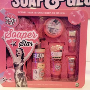 Soap & Glory - love their packaging and products