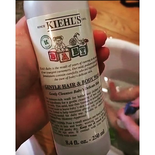 In My Baby Bag: Kiehls Baby Hair & Body Wash
