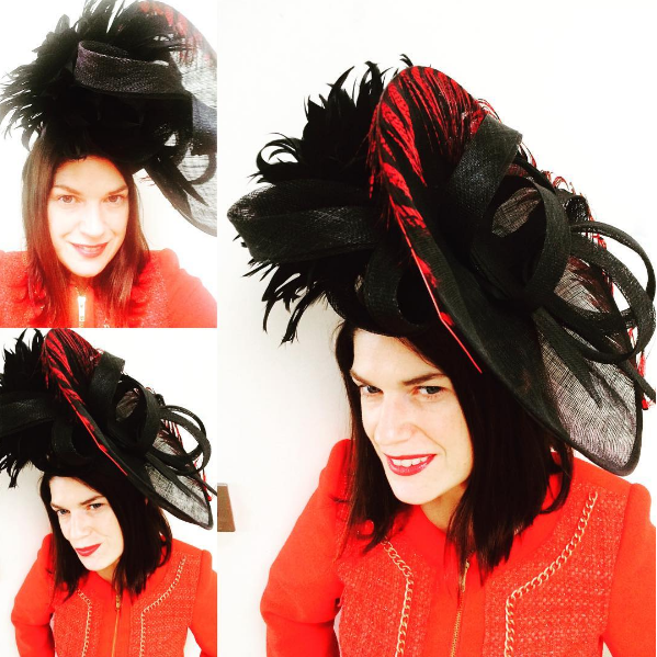Hat by Suzanne Ryan Millinery