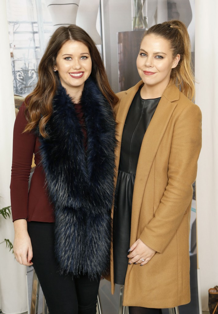 Gina Kiely and Kellie Masterson at the opening of & Other Stories Grafton Street Dublin