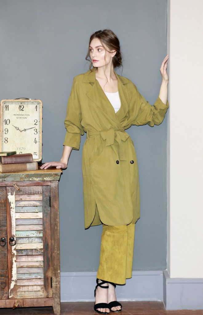 trench coat, Marc O'Polo Whistles trousers
