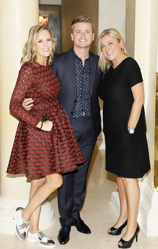 Cassie Stokes, Brian Ormond and Yvonne Donohue