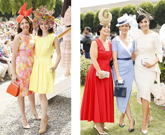 Ladies Day Style from the Dublin Horse Show
